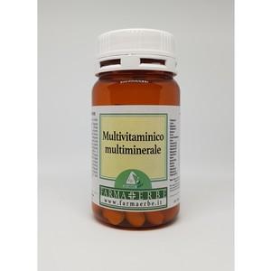 Multivitaminico Multiminerale Farma + Erbe 60 cpr