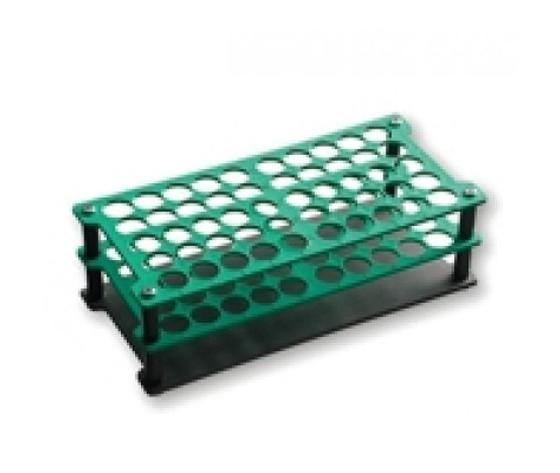 Porta provette in plastica da 60 posti