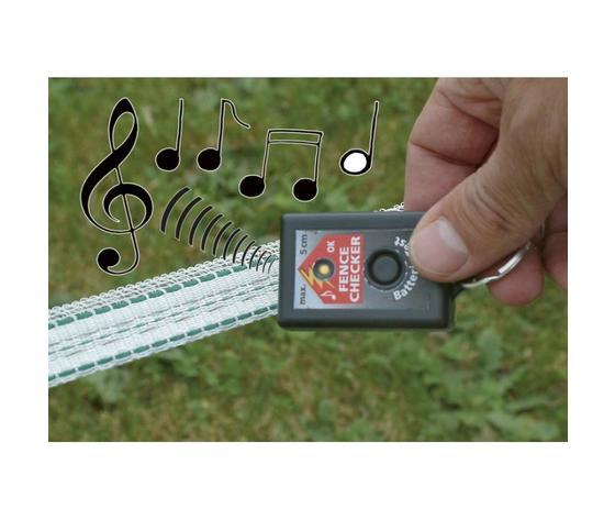 Tester ottico e acustico tensione recinto