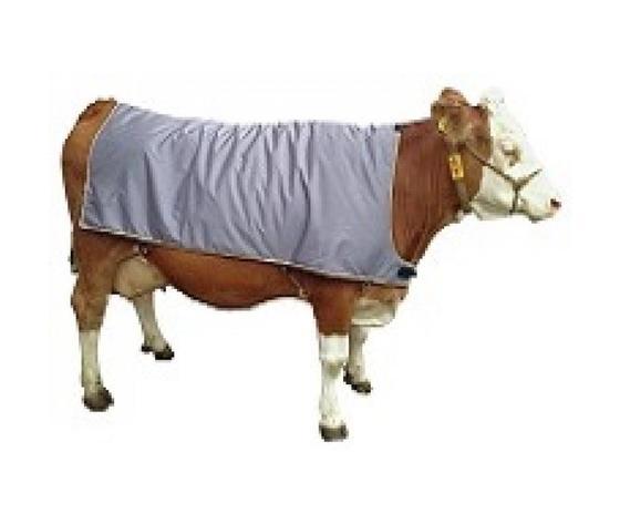Coperta termica riscaldante per bovini