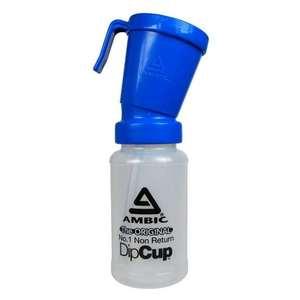 Bicchiere Per Disinfezione Mammelle Senza Ritorno Standardambic ( Con Logo)