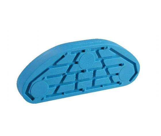 Soletta in plastica blu