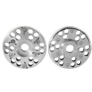 Disco Fresa Per Zoccoli Alluminio  6 Lame Diam.120 Mm. Kerbl