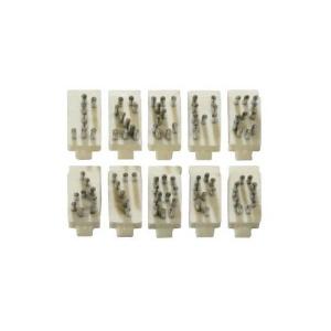 Numero Singolo Per Tatuatore In Alluminio Tipo Stone 5 Posizioni - 8 Mm