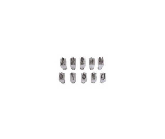 Set di numeri in metallo per  tatuatore ketchum 101  7 posizioni  %28numeri da 0 a 9%29   6 mm x000d