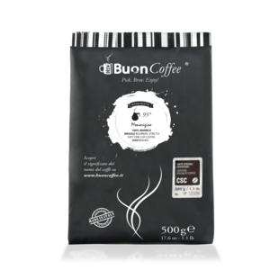 Caffè Filtro Americano 95° (CSC) Arabica 100%  da 500g Macinato
