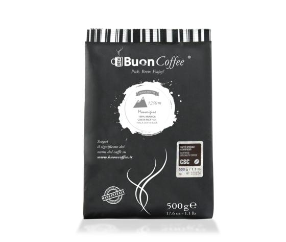 Caffè Filtro Americano 1250m (CSC) Arabica 100%  da 500g Grani