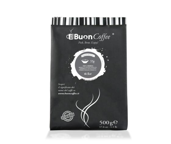 Caffè Filtro Americano 55g Arabica 100%  da 500g Grani