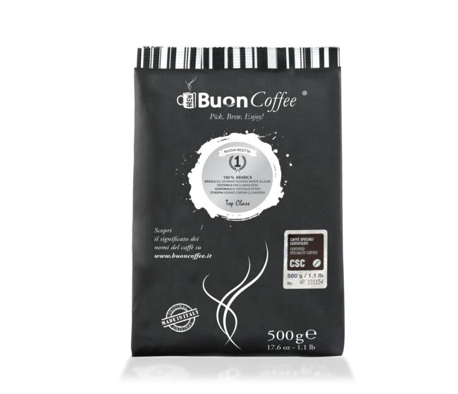 Caffè Filtro Americano N.1 (CSC) Arabica 100%  da 500g Macinato