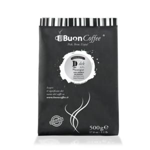 Caffè Filtro Americano DEK 0,1% Arabica 100%  da 500g Macinato