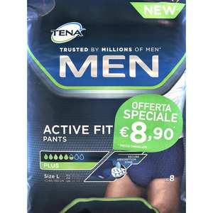 TENA Men Active Fit Pants L