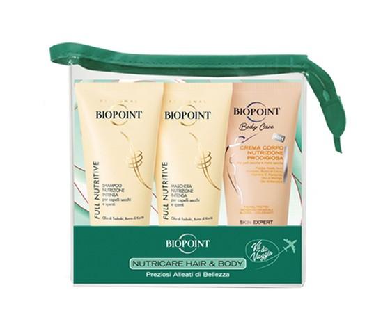 Cofanetto nutricante hair e body biopoint