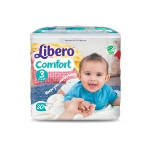 Libero Comfort Taglia 3 5-9kg 30 Pezzi