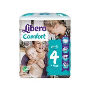 Libero Comfort 4 Pannolino Per Bambino 7 11 26 Pezzi
