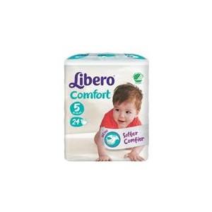 LIBERO COMFORT 5 PANNOLINO PER BAMBINO TAGLIA 10-14KG 24 PEZZI