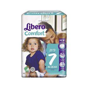 Libero Comfort 7 Pannolino Per Bambino 16 26 Kg 21 Pezzi