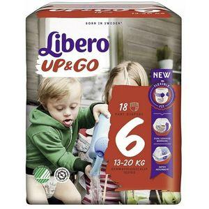 Libero Up & go Pannolini Bambini Taglia 6 13-20 kg 18 pezzi