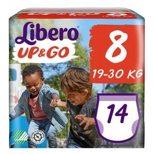 Libero Up & go Pannolini Bambino Taglia 8 19-30 kg 14 pezzi