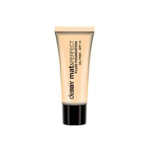 DEBBY FONDOTINTA FLUIDO MAT&PERFECT Fluid Foundation with the innovative opaque and ultra light formula Colour:   02 Natural