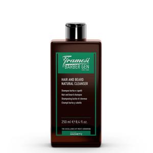 Framesi Barber Gen Hair And Beard Natural Cleanser Shampoo Barba e Capelli 250 ml