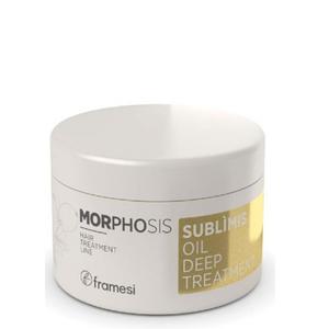Framesi Morphosis Sublimis Oil Deep Treatment Idratante Per Capelli Grossi All'Olio di Argan 200 ml