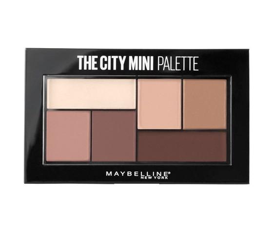 Maybelline ombretto palette the city mini n480