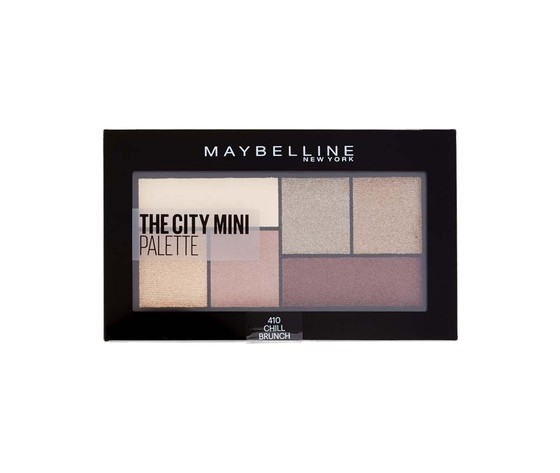 Maybelline ombretto palette the city mini n410
