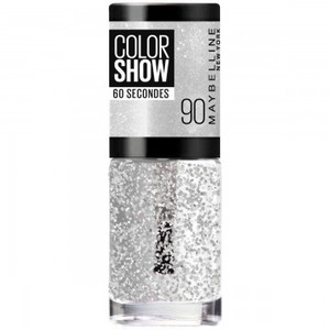 Maybelline Colour Show nail polish 6.7 ml Silver