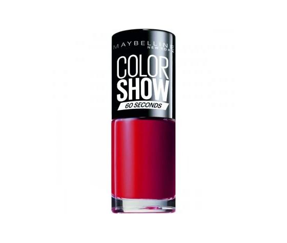 Maybelline new york smalto color show colore brillante asciugatura rapida 43 red apple