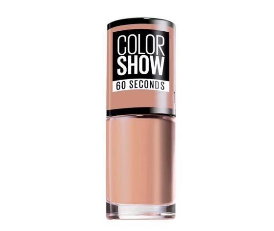 Maybelline new york esmalte color show 01 go bare