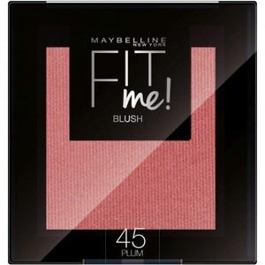 Maybelline New York Fit Me Blush In Polvere Pigmentato, Facile Da Sfumare, Per Un Look Naturale, 45 Plum