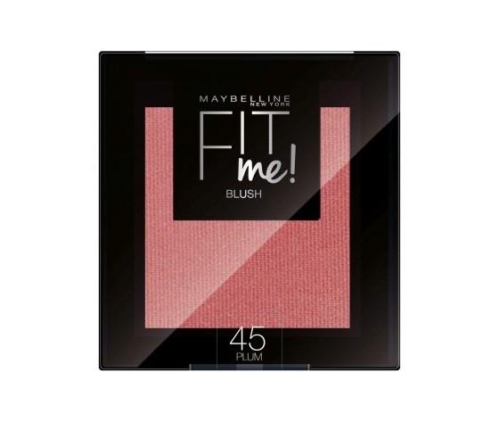 Maybelline new york fit me blush in polvere pigmentato facile da sfumare per un look naturale 45 plum