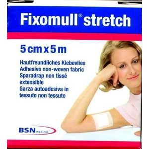 Fixomull Stretch garza autoadesiva 5cmx5m BSN