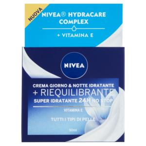 Nivea Essentials Super Idratante 24H No Stop + Riequilibrante Crema Nutriente Giorno & Notte 50 M