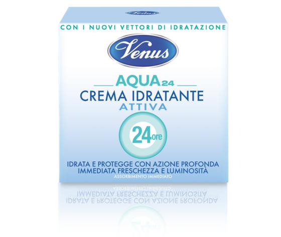 Venus crema aqua 24 attiva idratante 50 ml