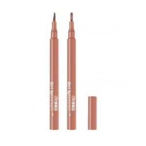 2in1 Lip Marker 01 - Nude