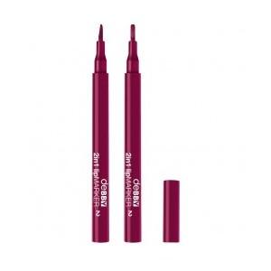 2in1 Lip Marker 02 - Purple