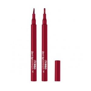 2in1 Lip Marker 03 - Bordeaux