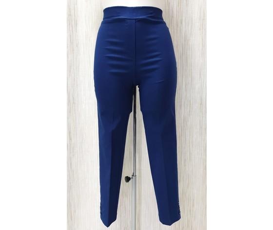 Pantalone capri 230 bluelettrico 1