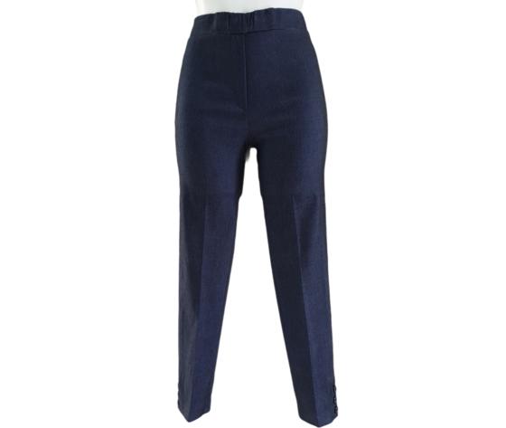 Pantalone capri 230 blu 1
