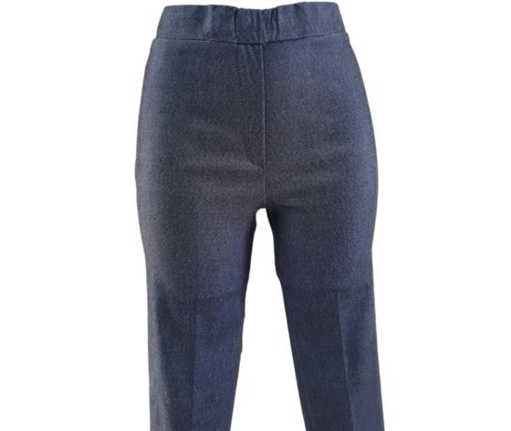 Pantalone capri 230 blu 2