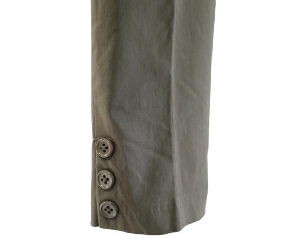 Pantalone capri 230 verde 3
