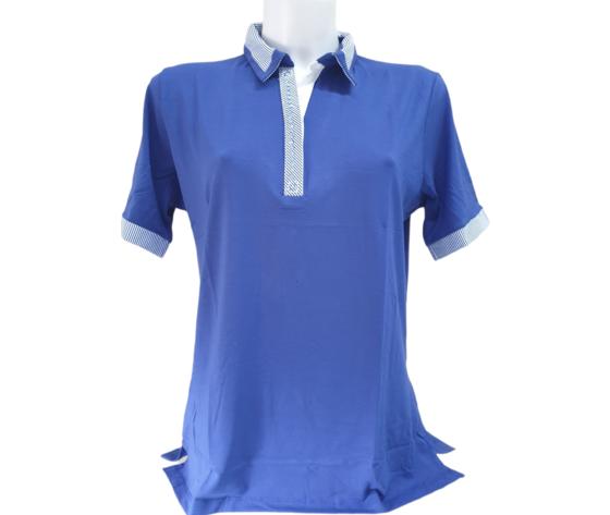 Polo harold 713 blu cobalto 1