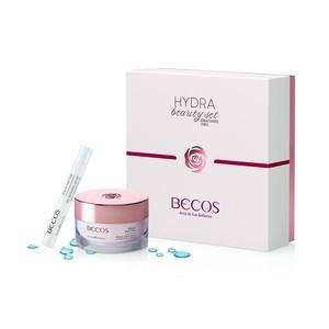 kit becos aqua factor crema idratante + contorno occhi