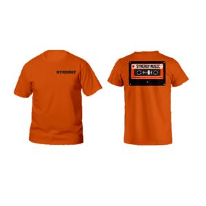 Maglia Uomo Logo Synergy Music Arancio