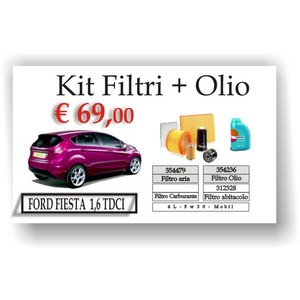 kit ford fiesta 1,6 tdci