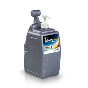 MacroCream    Crema lavamani con microgranuli vegetali   T-Box da 5000 ml con dosatore