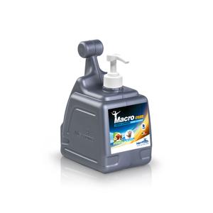 MacroCream    Crema lavamani con microgranuli vegetali   T-Box da 3000 ml con dosatore