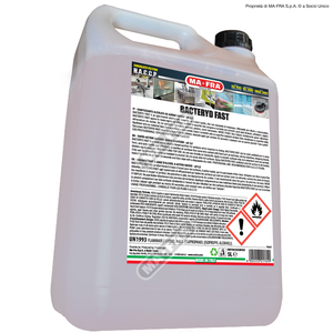 DETERGENTE ALCOLICO MAFRA BACTERY FAST 5 L