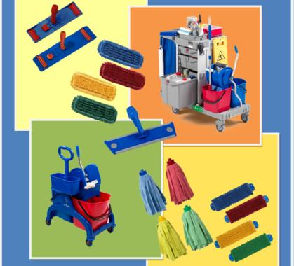 Immagine tessili e attrezzature
